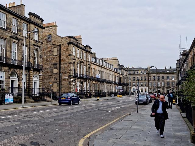 Víkend v Edinburghu