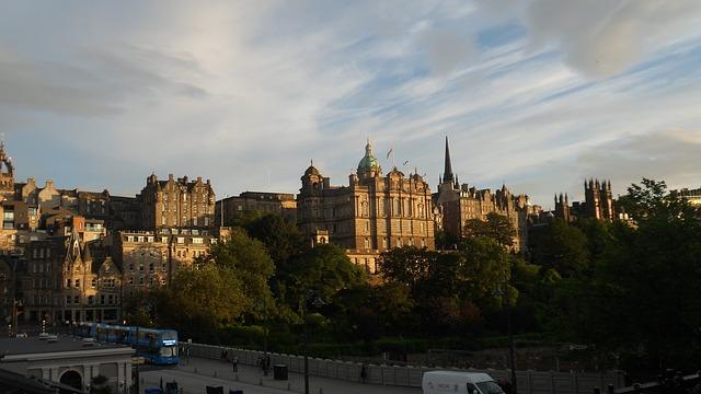 skotsko město