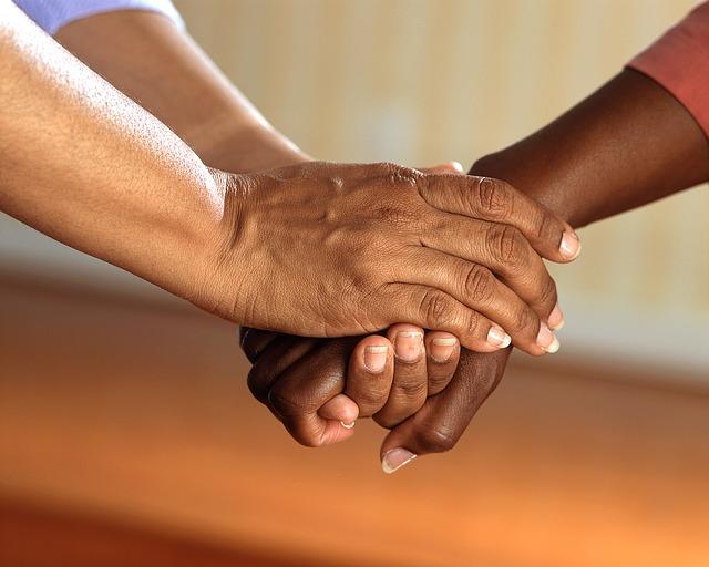 spojené ruce
