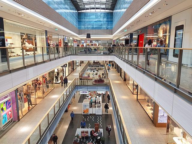 nákupní centrum