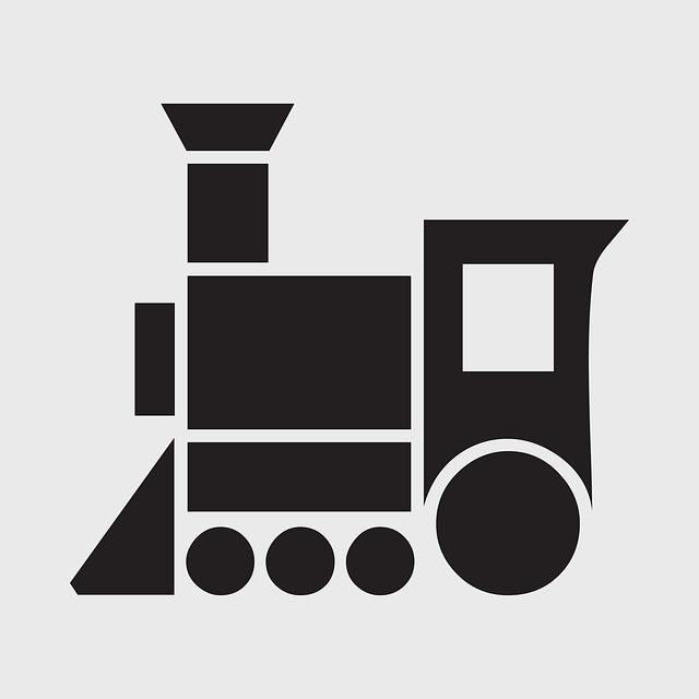 ilustrace lokomotivy