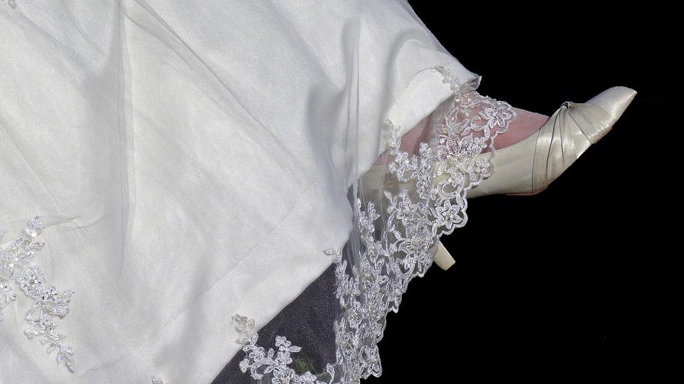 svatební krajka